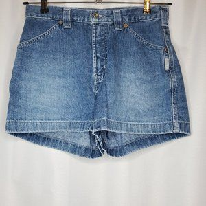 Silver Jeans High Waist Vintage Mom Shorts